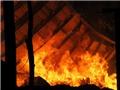 Cháy dữ dội, hơn 300 tấn bông bị thiêu rụi