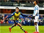 QPR 1-2 Arsenal: Alexis Sanchez hết tịt ngòi, Arsenal thắng thuyết phục