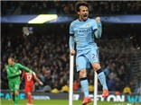 Man City 2-0 Leicester: Silva tỏa sáng, Man City vẫn nuôi hy vọng vô địch