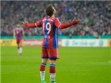 Bayern Munich 2-0 Braunschweig: Goetze độc diễn, Alaba sút phạt, Bayern bắt nạt đội hạng Nhì
