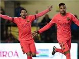 Villarreal 1-3 Barcelona: Suarez ghi bàn, Messi kiến tạo, Neymar lập cú đúp, Barcelona vào chung kết