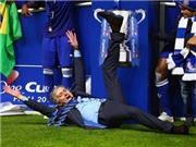 Pha ăn mừng ấn tượng của các HLV Mourinho, Wenger, Pep Guardiola, Van Gaal, Klopp, Ancelotti