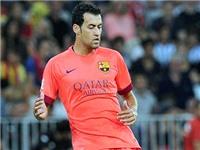 Sergio Busquets dính chấn thương: Cú sốc cho Barca