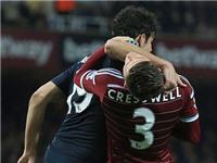 Costa may mắn thoát án phạt vì lỗi chơi xấu