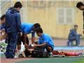 Thêm cầu thủ Olympic Việt Nam bị chấn thương