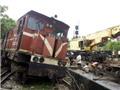 Tàu hỏa đâm xe máy ở Nghệ An khiến hai người thương vong