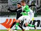 Lượt đi vòng 1/8 Europa League: De Bruyne giúp Wolfsburg hạ gục Inter, Fiorentina cầm chân Roma