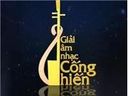 Giải Âm nhạc Cống hiến lần 10 - 2015