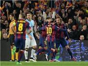 CHÙM ẢNH: Messi thăng hoa. Joe Hart xuất thần. Ter Stegen vỗ ngực 'tự sướng'