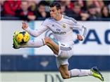 Gareth Bale dẫn bóng nhanh nhất thế giới, Messi chỉ đứng thứ 7
