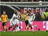 Đức 2-2 Australia: Bộ đôi 'hàng thải' Schuerrle - Podolski giải cứu ĐKVĐ thế giới trên sân nhà