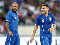 Hàng công đội tuyển Italy: Chỉ còn nước để trung vệ Chiellini... đá cắm?