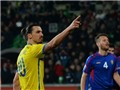 Ibrahimovic & bàn thắng dễ nhất: Thủ môn phát bóng trúng đầu, bay vào lưới
