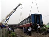 Sáng nay, tai nạn tàu hỏa nghiêm trọng làm 2 người chết tại Quảng Trị