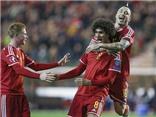Fellaini tiếp tục thăng hoa, lập cú đúp giúp Bỉ đại thắng