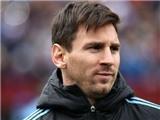 Messi nghỉ đá với El Salvador vì sưng bàn chân phải