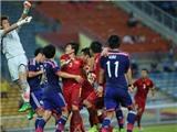 U23 Việt Nam và chiếc xe bus màu đỏ