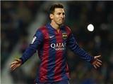 Messi là tiền đạo hay nhất trong năm 2015, Ronaldo xếp hạng... 29