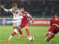Georgia 0-2 Đức: Nhà vô địch thế giới vẫn ngủ quên