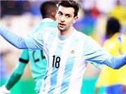 Không Messi, Argentina... tiến bộ vượt bậc