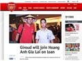 Arsenal cho HAGL mượn Giroud: Chỉ là tin ngày Cá tháng Tư