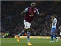 Aston Villa 3-3 QPR: Benteke lập hat-trick giải nguy cho Aston Villa