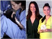 Maggie Q đi thăm gấu, dự tiệc cùng Thu Minh, Sơn Tùng M-TP