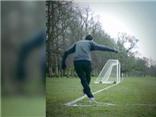 Angel di Maria ghi bàn theo kiểu Rabona từ chấm phạt góc