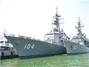 Hai tàu huấn luyện Nhật Bản thăm Đà Nẵng