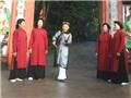 Biểu diễn hát xoan Phú Thọ trong Giỗ tổ Hùng Vương