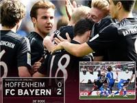 Hoffenheim 0 - 2 Bayern Munich: Trận thắng nhợt nhạt của Bayern