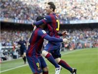 Barcelona 2-0 Valencia:  Thày trò ông Enrique tiến gần tới ngôi vô địch