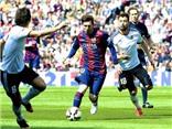 VIDEO: Pha bỏ lỡ không thể tin nổi của Messi