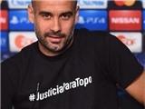Pep Guardiola chuẩn bị nhận án phạt từ UEFA vì đòi công lý cho nhà báo