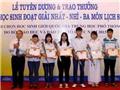 Tuyên dương 130 học sinh giỏi Sử quốc gia