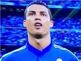 Ronaldo 'yêu đời', hăng hái hát hết bài ca truyền thống Champions League