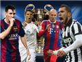 17h00 chiều nay bốc thăm vòng Bán kết Champions League: Real Madrid, Barcelona, Juventus đều ngán Bayern Munich