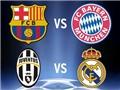 KẾT QUẢ bốc thăm vòng Bán kết Champions League: Barca gặp Bayern, Juventus gặp Real