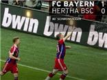 Bayern Munich 1-0 Hertha Berlin: Schweinsteiger giúp 'Hùm xám' chạm tay vào ngôi vương