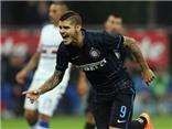 Pazzini ghi bàn, Milan vẫn thua Udinese. Icardi bắn hạ Roma ở San Siro