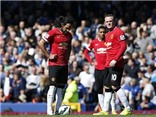 Everton 3-0 Man United: Tấn công bế tắc, Man United thua trận thứ hai liên tiếp
