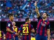 Con số bình luận: Sức mạnh tấn công hủy diệt của Barcelona