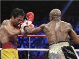 Mayweather - Pacquiao: Mayweather thắng điểm Pacquiao trong trận quyền Anh thế kỷ