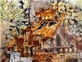 Cánh cửa xưa Hà Nội trong tranh của Văn Dương Thành