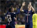 Ibrahimovic xỏ háng đối thủ để kiến tạo cho đồng đội ghi bàn