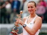 Con số bình luận: Chức vô địch đầu tiên sau 4 năm của tay vợt Petra Kvitova