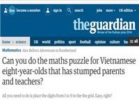 Bài toán siêu khó của học sinh lớp 3: Tại sao lại im lặng trước lời khen?