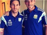 Khám phá chi tiết những hình xăm mới nhất trên cơ thể Lionel Messi