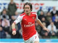 Arsenal ký hợp đồng mới với Rosicky, nhưng 'không phải để lôi kéo Cech'
