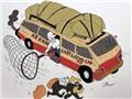 Xe khách chất lượng cao - Tranh của họa sĩ ZĨN